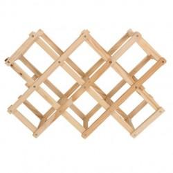 Πτυσσόμενη ξύλινη κάβα 8 θέσεων