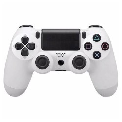 OEM Doubleshock 4 ασύρματο χειριστήριο PS4 - Λευκό