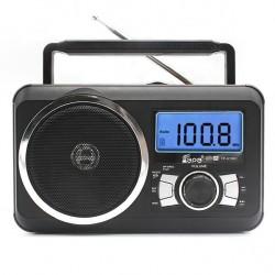 Φορητό Ραδιόφωνο FM, MP3, USB, SD FP-910-RC