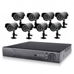 Σετ CCTV καταγραφικό δικτύου με 8 κάμερες - ΟΕΜ RS485