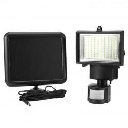 Hλιακός προβολέας ασφαλείας με ανιχνευτή κίνησης 100 LED