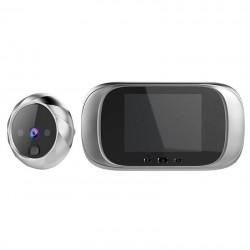 Κρυφή κάμερα πόρτας - Θυροτηλεόραση με κουδούνι