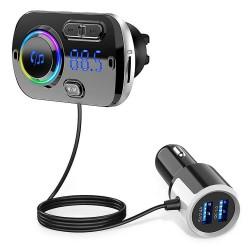BC49BQ FM Transmitter, USB φορτιστής αυτοκινήτου, BT hands free