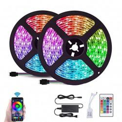 Αδιάβροχη ταινία Smart LED WIFI SMD5050 12V RGB 2x5m