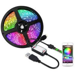 Αδιάβροχη ταινία LED ΒΤ SMD5050 USB 5V RGBW 5m