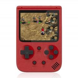 Φορητή ρετρό παιχνιδομηχανή 8-Bit 500 σε 1 Κόκκινο