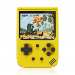 Φορητή ρετρό παιχνιδομηχανή 8-Bit 500 σε 1 Μπλε