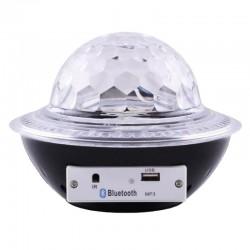 Φωτορυθμικό MP3 LED Μαγική σφαίρα Disco UFO