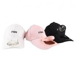 Καπέλο με ανεμιστηράκι USB