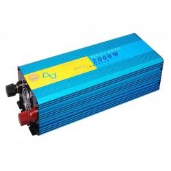 Μετατροπέας ρεύματος αυτοκινήτου από DC 12V σε AC 220V - Inverter Καθαρού ημιτόνου 2000W DX2000PC