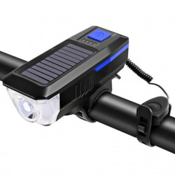 Ηλιακό, αδιάβροχο φως 350lm με κουδούνι LY-17