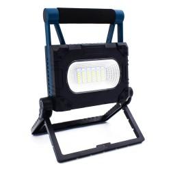 Ηλιακός φορητός προβολέας LED Εργασίας με μαγνήτη & Powerbank OEM W875-1