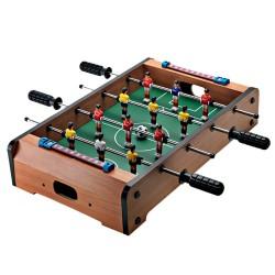Μίνι επιτραπέζιο ξύλινο ποδοσφαιράκι 34x22