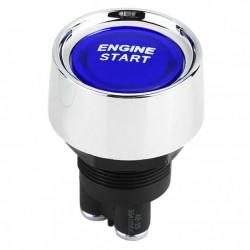 Μπουτόν εκκίνησης αυτοκινήτου Engine Start Stop OEM - Μπλε