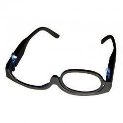Γυαλιά για το μακιγιάζ με μεγεθυντικό φακό x3 και LED