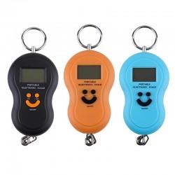 Φορητή ηλεκτρονική ζυγαριά με γάντζο στήριξης - 10gr-50kg