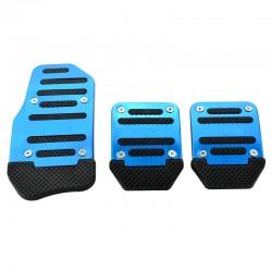 Αντιολισθητικά πεντάλ αυτοκινήτου - 3τμχ - LB-373 - Μπλε
