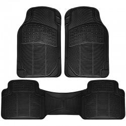 Αντιολισθητικά πατάκια αυτοκινήτου - 5 θέσεων - Μαύρο