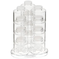 Καρουσέλ με 12 βαζάκια για μπαχαρικά