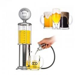 Vintage dispenser ποτού 900ml σε αντλία βενζίνης με κάνουλα