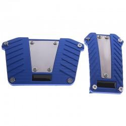 Αντιολισθητικά πεντάλ για αυτόματο αυτοκίνητο - 2τμχ - Μπλε 35269