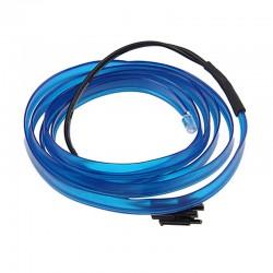 Εύκαμπτο LED καλώδιο για εσωτερική διακόσμηση αυτοκινήτου - Μπλε