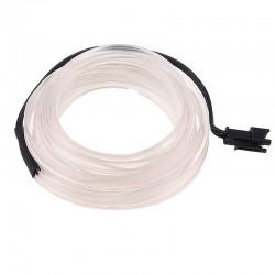 Εύκαμπτο LED καλώδιο για εσωτερική διακόσμηση αυτοκινήτου - Λευκό