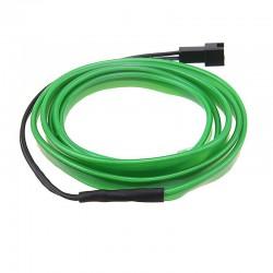 Εύκαμπτο LED καλώδιο για εσωτερική διακόσμηση αυτοκινήτου - Πράσινο