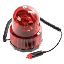 Περιστρεφόμενος μαγνητικός φάρος αυτοκινήτου 12V έκτακτης ανάγκης - Κόκκινο 52058