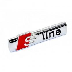 Μεταλλικό 3D σήμα Sline για το αυτοκίνητο - Ασημί